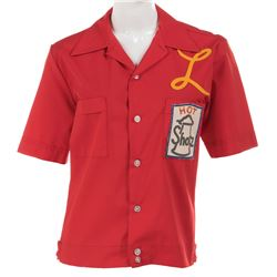 """Penny Marshall """"Laverne DeFazio"""" Schotz bowling shirt from Laverne & Shirley."""