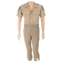 "Erik Estrada ""Officer Frank Poncherello"" police uniform from CHiPs."