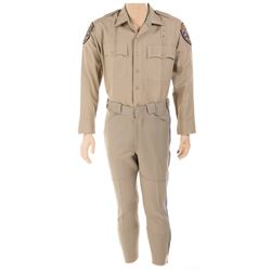 "Larry Wilcox ""Officer Jon Baker"" police uniform from CHiPs."
