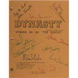Dallas and Dynasty (10) episode shooting scripts.