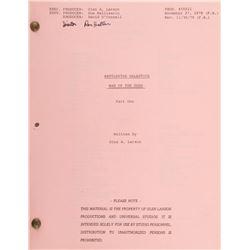 Battlestar Galactica and Galactica 80 (5) episode and TV-movie shooting scripts.