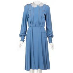 Ann Reinking 'Grace' blue dress from Annie.
