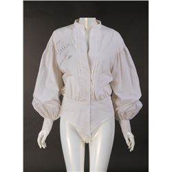 Farrah Fawcett 'Alex' signed white blouse from Saturn 3.