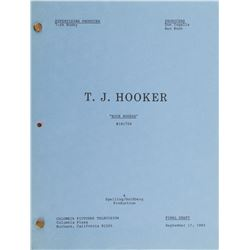 Television series of the 1980s-1990s (19) table-draft and shooting scripts.