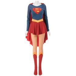 Helen Slater 'Supergirl' signature superhero uniform from Supergirl.