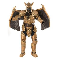 Kerry Casey 'Goldar' (20+) piece armor costume from Mighty Morphin Power Rangers: The Movie.