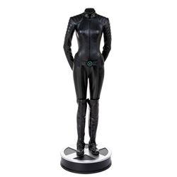 Famke Janssen 'Jean Grey' battle suit on life-size display base from X-Men.