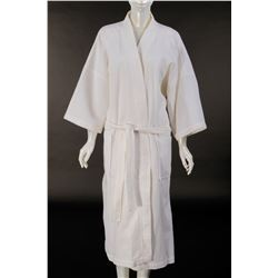 Jennifer Lopez robe and slippers from Maid in Manhattan.