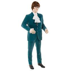 Mike Myers 'Austin Powers' velvet ensemble on custom figure from Austin Powers in Goldmember.