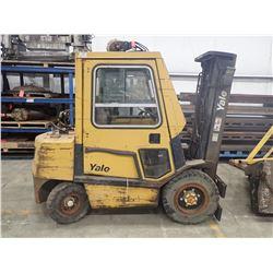 Yale 6000LBS Lift Truck, M/N: GLP060TENUAE086LPS