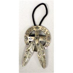 Navajo Sterling Silver Ponytail Holder
