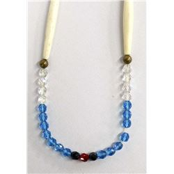 Plains Indian Glass Bead Necklace