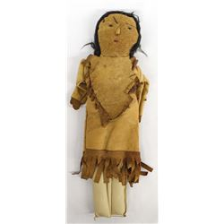 Vintage Native American Leather Doll