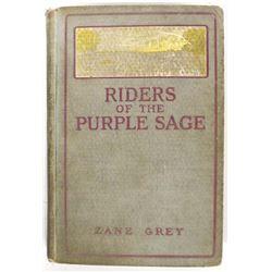 1912 Riders of the Purple Sage by Zane Grey