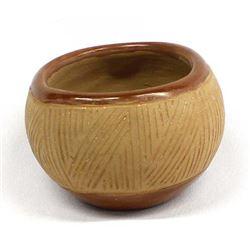 Vintage San Juan Pottery Bowl by Tomasita Montoya