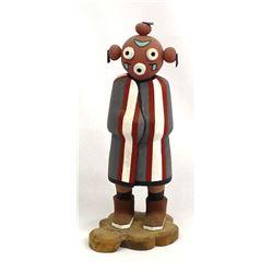 Hopi Mudhead Kachina by Fermin Torivio