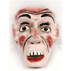 Mexican Carved Wood Mask