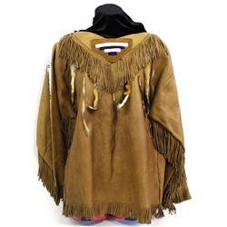 Native American Plains Indian Beaded Shirt