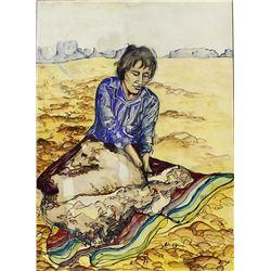 Original Watercolor Painting by Edna A. Yrigoyen