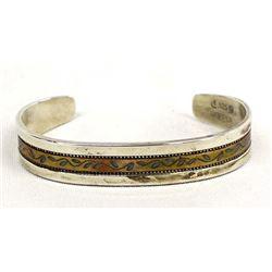 Carolyn Pollack Relios Copper & Sterling Bracelet