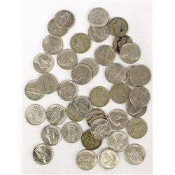 Roll of Mixed Date Jefferson Nickels