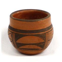 Hopi Pottery Bowl by Zella Cheeda, Antelope Woman
