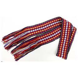 Native American Navajo Wool Sash