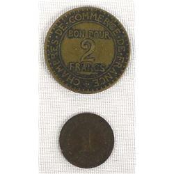 2 Antique Coins