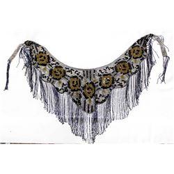 Beaded Dress Collar