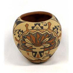 Native American Jemez Pueblo Pottery Jar