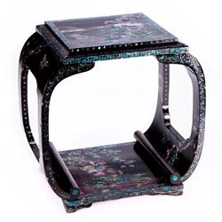 19th century Asian lacquered table.