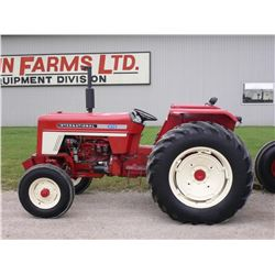 IH 574 2wd tractor, one owner, 16.9x30 power adjust rims, 670 original hrs