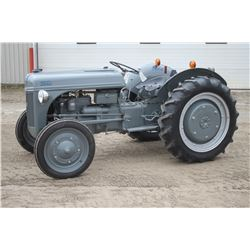 Ford 2N 2wd tractor, restored
