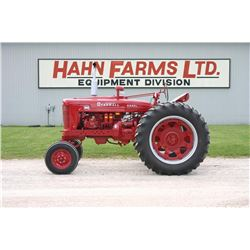 IH Farmall MD 2wd, diesel tractor, wide front, restored