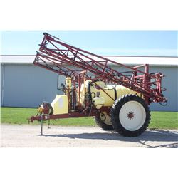 Hardi Navigator 1000 sprayer, PTO, HC2500 monitor, 4 section Boom control, foam markers, 14.9R46, 80