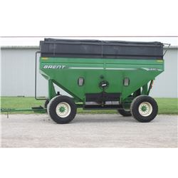 2014 Brent 644 gravity wagon, tarp, brakes, very clean, one owner