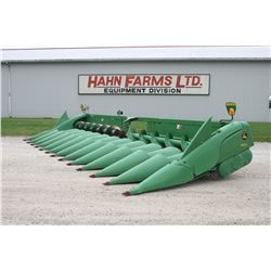 2013 JD 612C 12 row corn head, knife rolls, single point, hyd. deck plates, excellent