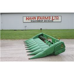 2008 JD 608C 8 row corn head, knife rolls, single point, hyd deck plates, stalk stompers, HFI inspec