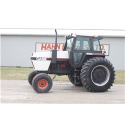 Case 2094 2wd tractor, cab, air, powershift, 20.8x38, 2 remotes, 3874 hrs