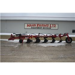 Gregoire-Besson 5 furrow semi mount auto reset, vari width plow, hyd. tail wheel, low acres