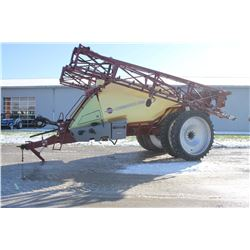 Hardi Commander 6600 trail sprayer, 90' boom, 1850 gal tank, HC5500 rate controller, suspended axle,