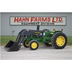 JD 1830 2wd tractor, Buhler 495 loader, 16.9x30, 3000 hrs