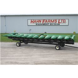 2013 JD 612C 12 row Stalkmaster chopping corn head, knife rolls, hyd. deck plates