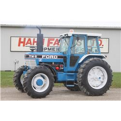 Ford TW-5 II 4wd tractor, cab, air, 18.4X38, 2 remotes, one owner, 5565 hrs