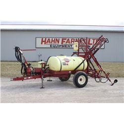 Hardi TL300 gal single axle sprayer