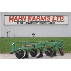 JD 145 3 furrow, semi mount plow