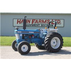 Ford 6610 II 2wd tractor, rops, 18.4x30, Dual power, dual pump, 2 remotes, 2310 hrs