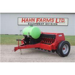 CIH 5100 18 run drill, grass, liquid fert, rear hitch