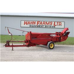 NH 311 small square baler, thrower