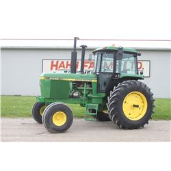 JD 4440 2wd tractor cab, air, quad, 20.8x38, 3 remotes, 6152 hrs